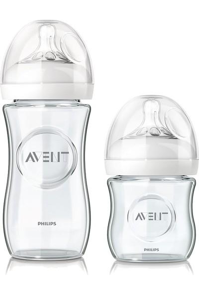 Philips Avent Natural Cam Biberon Seti 2'li (240 ml + 120 ml)