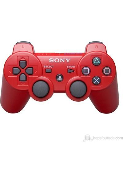 Sony Ps3 Kablosuz Kırmızı Oyun Kolu - Wireless Dualshock - Joystick
