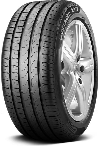 Pirelli 245/40 R18 97Y XL Cinturato P7 RFT MOE Oto Yaz Lastiği ( Üretim Yılı: 2021 )