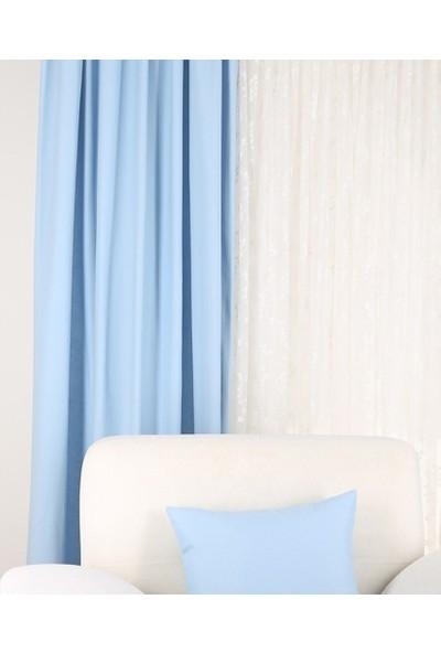 Belenay Fon Perde - Mavi