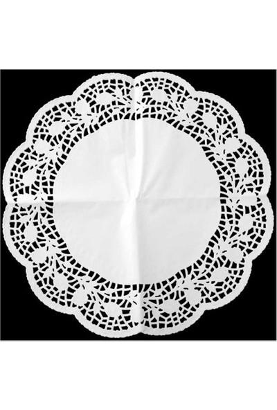 Zenker Pasta Örtüsü Beyaz Kağıt 36 cm 12 Adet