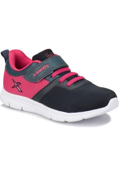 Kinetix Anka Lacivert Pembe Kız Çocuk Yürüyüş Ayakkabısı