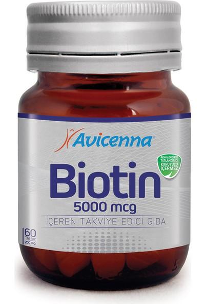 Avicenna Biotin 5000 mcg 60 tb