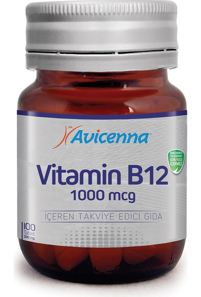 Avicenna Vit-B12 1000mcg 100 tb