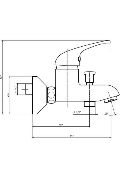 Ar Allegra Banyo Bataryası