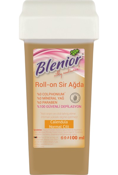 Blenior Rollon Sir Ağda Set 100 Ml Normal