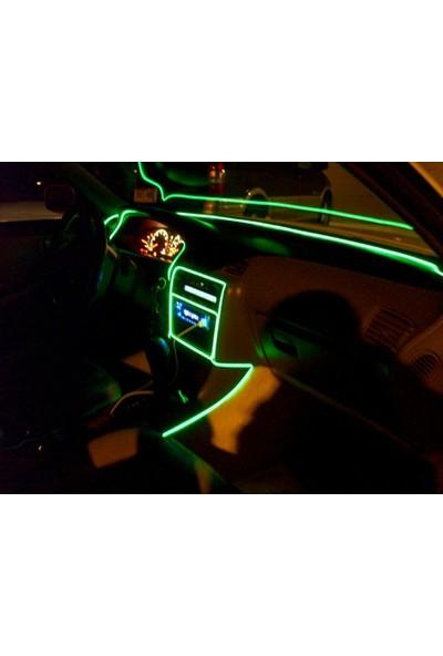 Boostzone Araç İçi Neon Aydınlatma Buz Mavisi 3 Metre