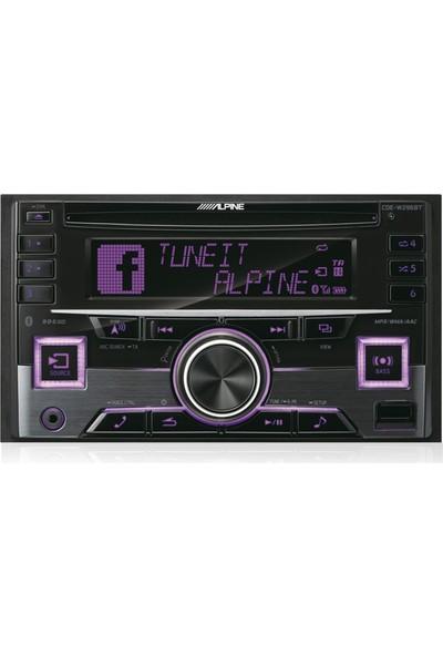 Alpine Alpine Cde-W296Bt - Bluetooth Özellikli 2-Dın Cd Alıcısı