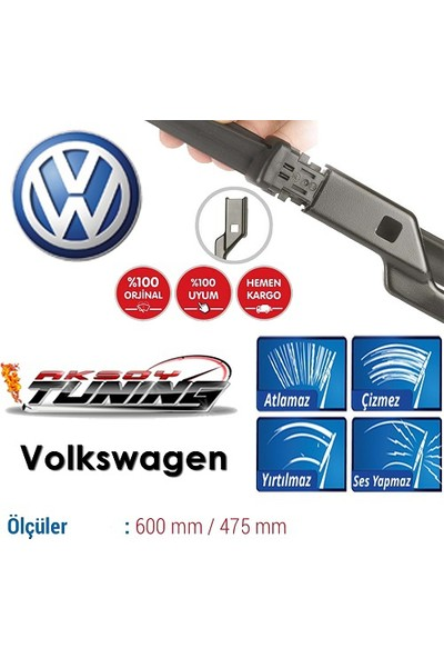 Boostzone Volkswagen Jetta 2012-2013 Orjinal Muz Tipi Silecek