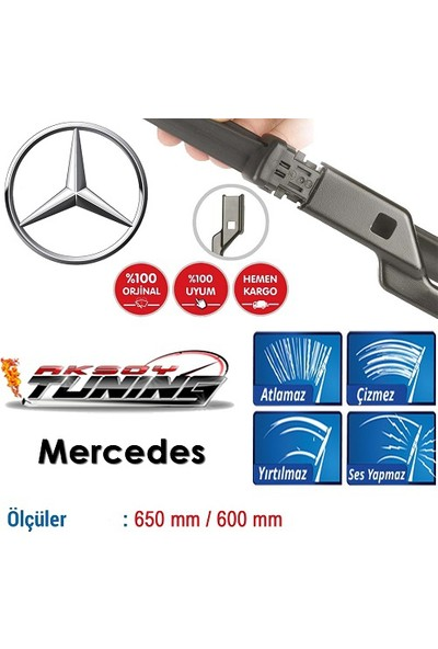 Boostzone Mercedes Ml300 2012-2013 Orjinal Muz Tipi Silecek
