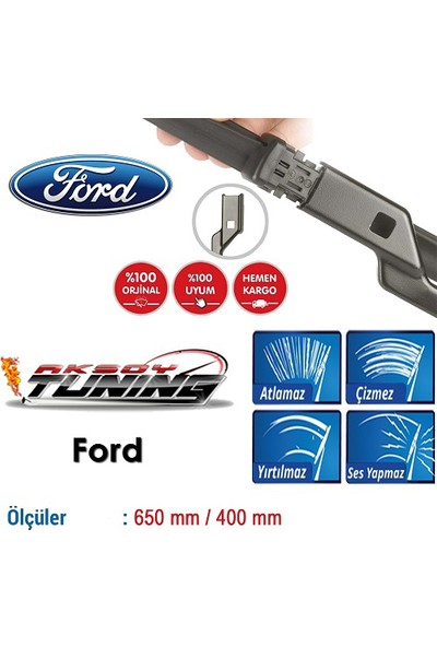 Boostzone Ford Fiesta Orjinal Muz Tipi Silecek