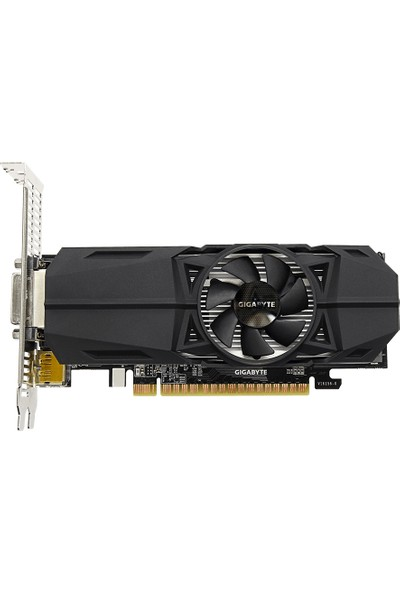 Gigabyte Nvidia GeForce GTX 1050 Ti Low Profile 4GB OC 128Bit GDDR5 (DX12) PCI-E 3.0 Ekran Kartı GV-N105TOC-4GL
