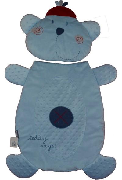 Bibaby Teddy Figürlü Alt Açma Mavi