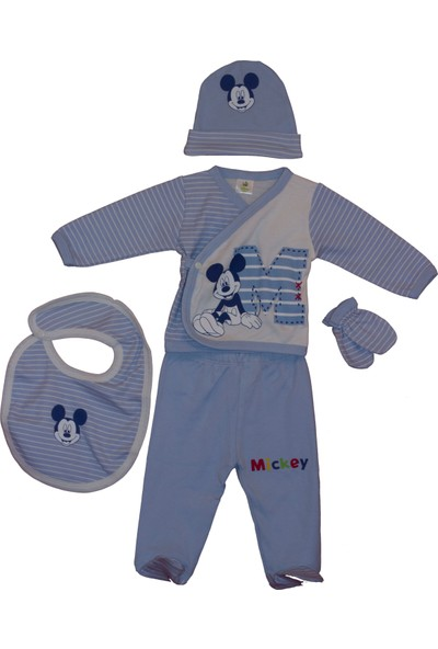 Disneybaby Mickey Mouse 5'li Set Mavi
