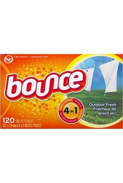 Bounce Outdoor Fresh Yumuşatıcı Mendil 120 Kullanımlık