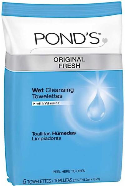 Pond's Islak Temizlik Mendili 5'li Paket