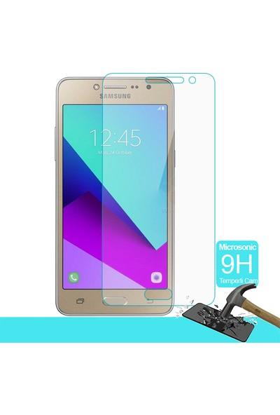 Microsonic Samsung Galaxy Grand Prime Plus Temperli Cam Ekran koruyucu film