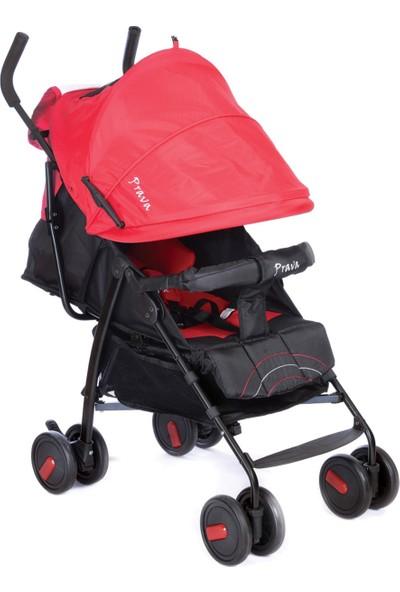 Prava Hero Baston Bebek Arabası Kırmızı