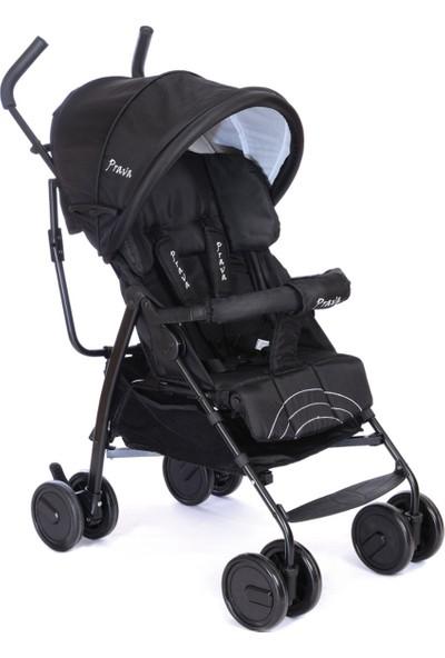 Prava Hero Baston Bebek Arabası Siyah
