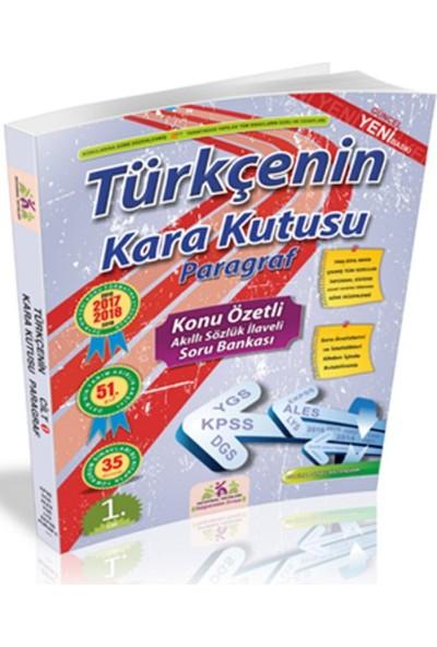 İnformal Yayınları Türkçenin Kara Kutusu Paragraf Konu Özetli Soru Bankası 1. Cilt