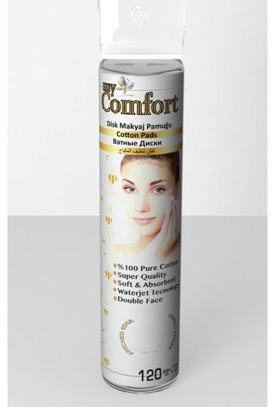 My Comfort Makyaj Temizleme Mendili 25 Adet + My Comfort Makyaj Temizleme Pamuğu 120 Adet