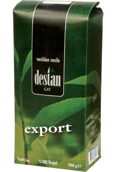 Destan Export Siyah Çay %100 Doğal 1000 gr
