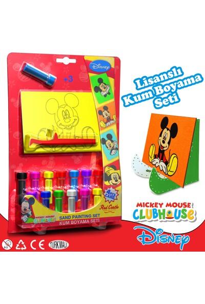 Red Caste Disney Dörtlü Kum Boyama Seti Mickey Mouse Serisi