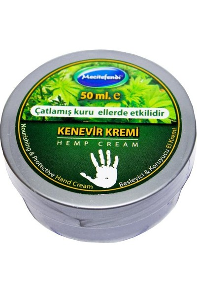 Mecitefendi Kenevir El Kremi 50ml