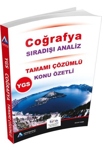 Sıradışı Analiz YGS Coğrafya Tamamı Çözümlü Konu Özetli Soru Bankası - Bülent Demir