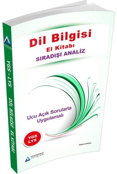Sıradışı Analiz YGS LYS Dil Bilgisi El Kitabı