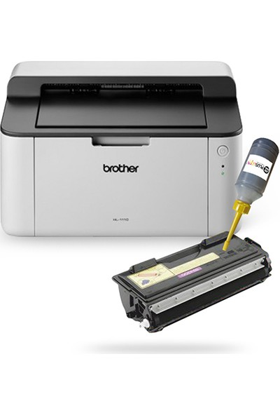 Brother Hl 1111 Dolan Tonerli Laser Yazıcı (1 Sayfa Baskı 0,02 Tl)