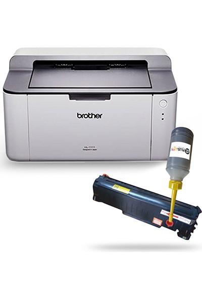 Brother Hl 1211W Dolan Tonerli Laser Yazıcı (1 Sayfa Baskı 0,02 Tl)