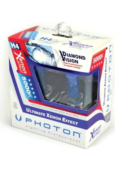 Photon H7 12V 55W 5000K Beyaz Işık Dıamond Vısıon