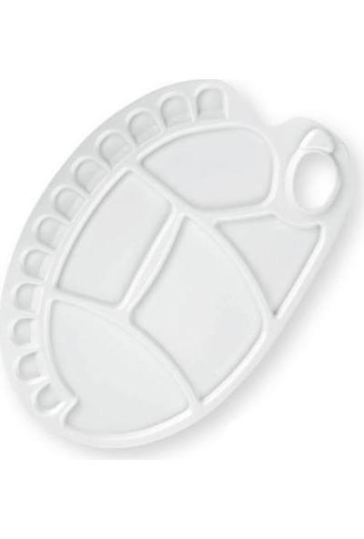 İdora Plastik Büyük Boy Oval Palet
