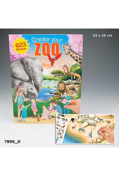 Depesche Zoo Boyama Kitabı