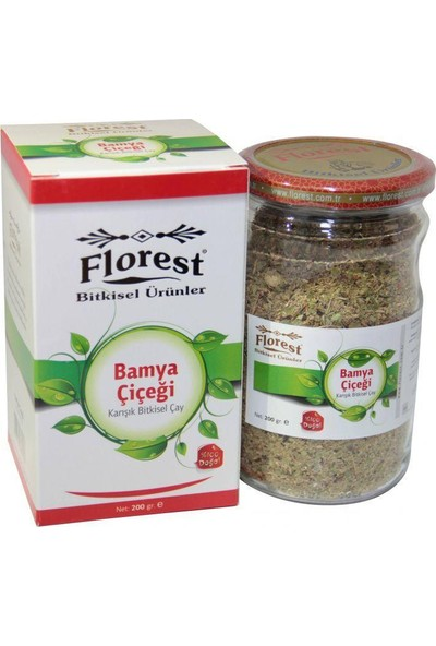 Florest Bamya Çiçeği Çayı 200 Gram