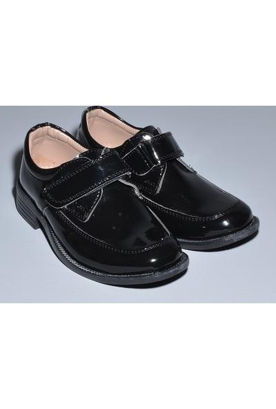Glory Tekstil Sünnet Ayakkabısı Siyah Rugan