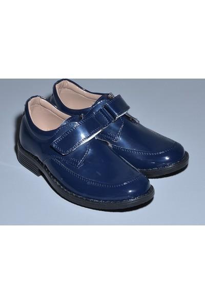 Glory Tekstil Sünnet Ayakkabısı Lacivert Rugan