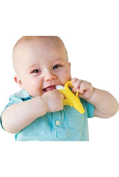 Baby Banana Diş Kaşıyıcı Diş Fırçası Muz
