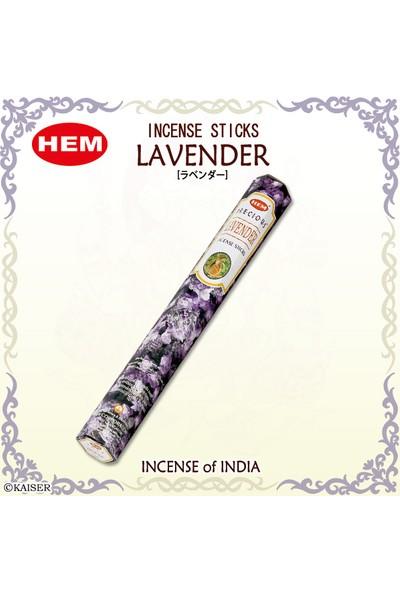Hem Lavender Incense Sticks - Lavanta Tütsü 20 Adet