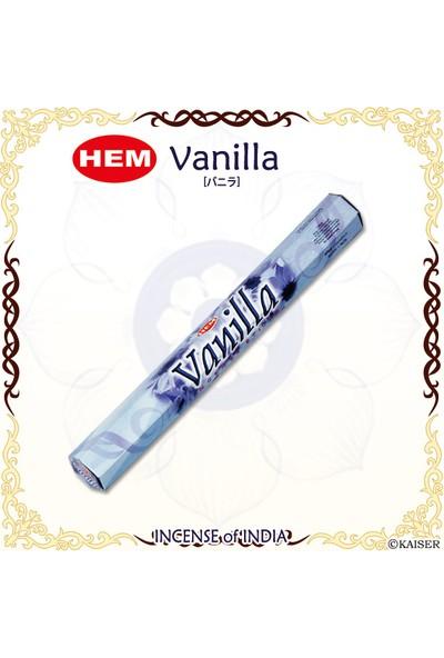 Hem Vanilla Incense Sticks - Vanilya Tütsü 20 Adet