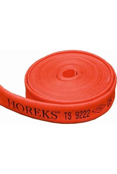 """Horeks 4"""" - 110 mm PVC Yangın Hortumu Kırmızı PU Kaplı"""