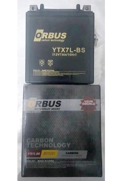 Orbus Bajaj Discover 150 S 12 Volt 7 Amper Akü