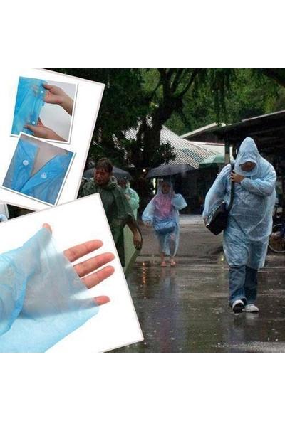 Anka Çıtçıtlı Tek Kullanımlık Yağmurluk - Kullan At (5 Adet)