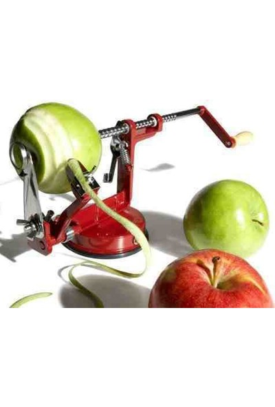 Anka Elma Soyma Ve Dilimleme Makinesi