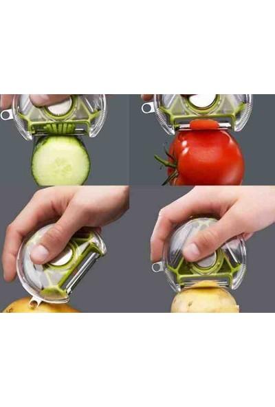Anka Çok Amaçlı Sebze Meyve Soyacağı (3 İn 1 Peeler)