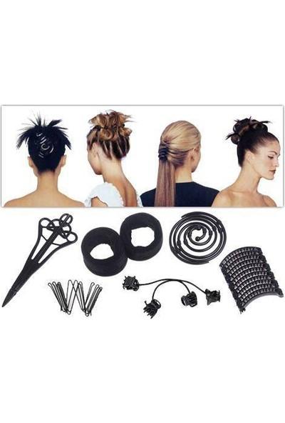 Anka Sihirli Saç Şekillendirme Seti Hairagami Makeover Kit