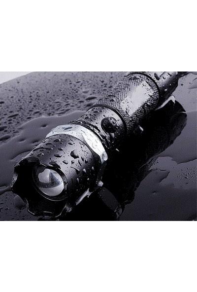 Anka Swat Kp-807 Zoomlu Ve Şarjlı Polis Feneri