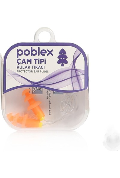 Poblex Çam Tipi Kulak Tıkacı