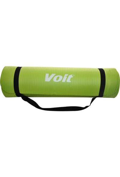 Voit Nbr Yoga Mat 1 cm Yeşil